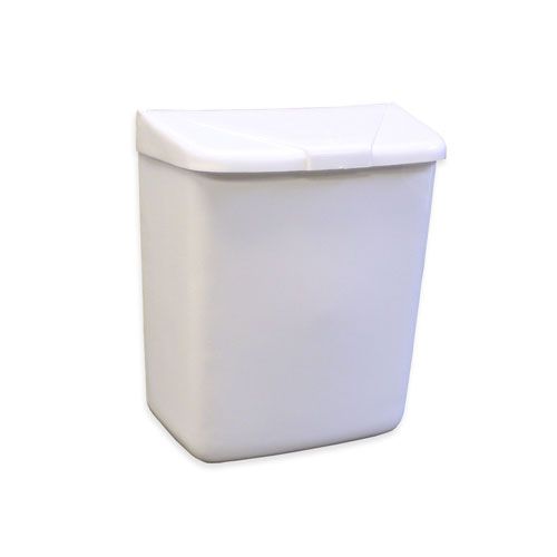 RECEPTICAL SANITARY WHITE PLASTIC