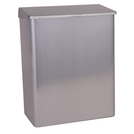 RECEPTICAL SANITARY STAINLESS STEEL USES #77 BAGS