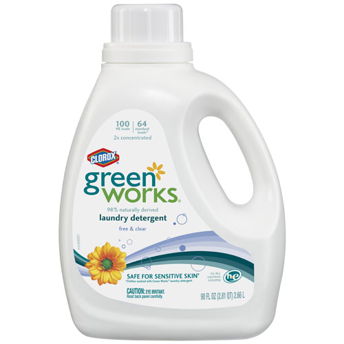 LAUNDRY DETERGENT CLOROX GREEN WORKS NATURAL LIQUID