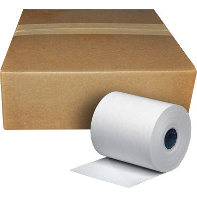 "REGISTER PAPER THERMAL ROLLS 2 1/4"" X 165', 7/16"" CORE,"