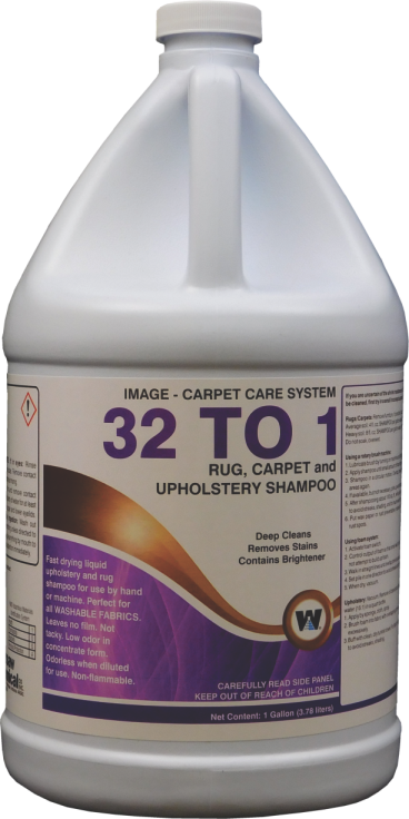 32 TO 1 CARPET CLEANER (4 GALLONS PER CASE)