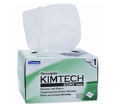 LENS CLEANING WIPES KIM TECH DELICARE TASK WIPER, POP UP