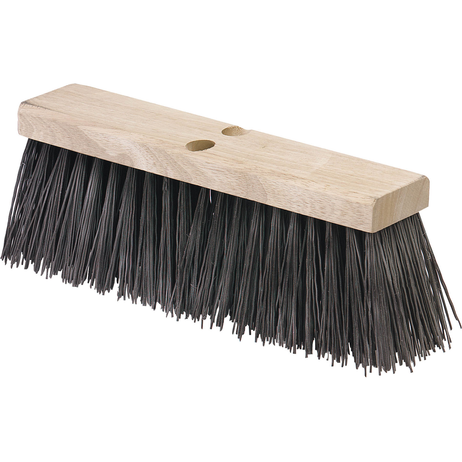 "BROOM 18"" HEAVY POLYPROPYLENE 5 1/8 TRIM"