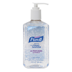 HAND SANITIZER PURELL INSTANT  12 OZ PUMP BOTTLE 12 PER CASE