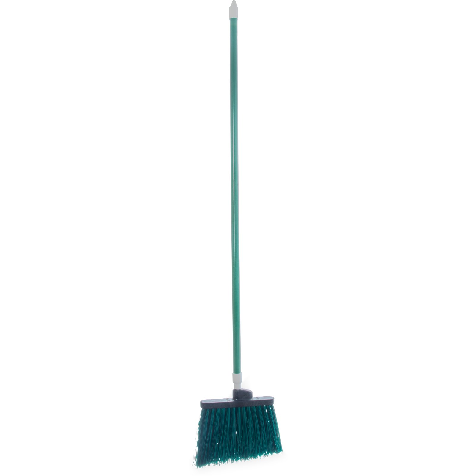 "BROOM 54"" UNFLAGGED ANGLE W/ POLYPROPYLENE BRISTLES GREEN"