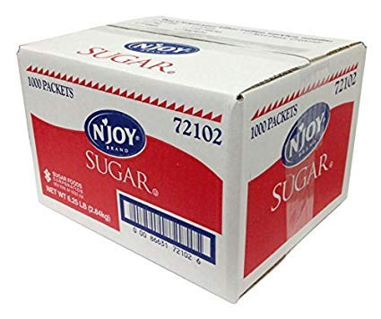 SUGAR PACKETS 2000 PER CASE CRYSTAL