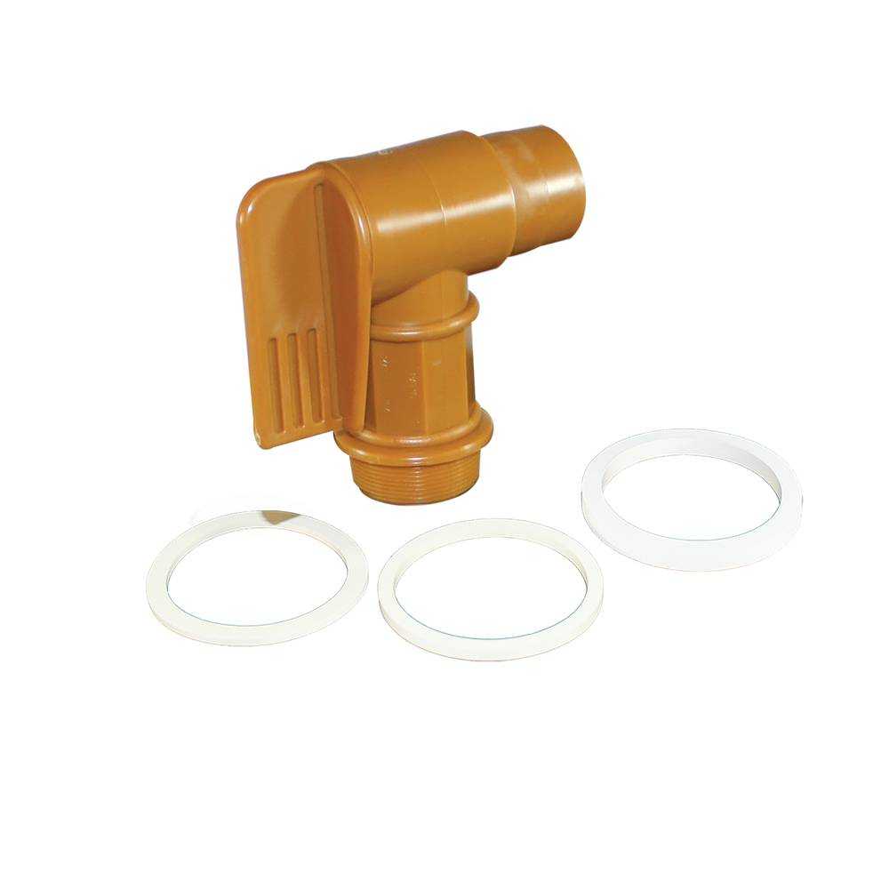 "DRUM SPIGOT FITS 2"" NATURAL PIPE"
