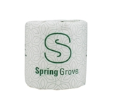 TOILET TISSUE 2-PLY SPRING GROVE 4.5 X 3.5 500 SHEETS
