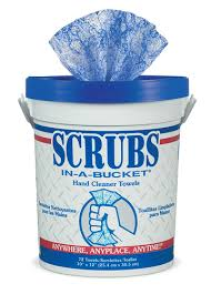 WIPES SCRUBS IN A BUCKET HAND CLEANER 72 WIPERS PER BUCKET