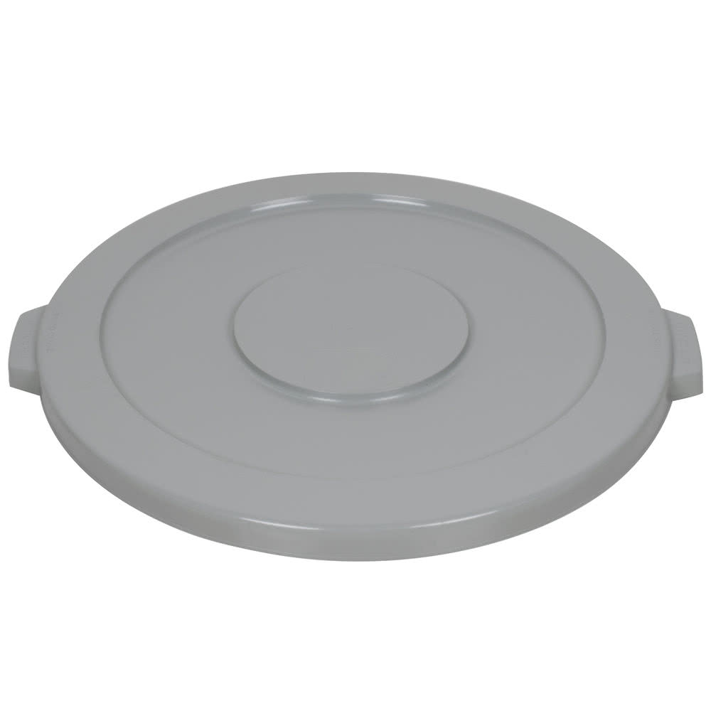 LID TRASH CAN GRAY ROUND FOR RJ-4444