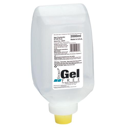 HAND SANITIZER STOKO GEL FREE INSTANT 2000ml FRAGRANCE &