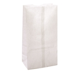 BAG PAPER 6# WHITE 500 PER PACK (81223)