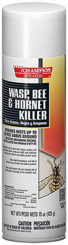 WASP BEE AND HORNET KILLER 15 OZ CAN (12 CANS PER CASE)