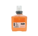 HAND SOAP GOJO FOAMING  TFX TRANSLUCENT APRICOT,