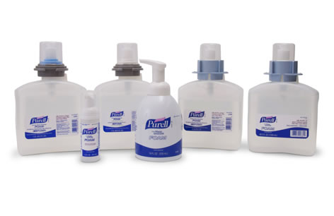 HAND SANITIZER PURELL INSTANT FOAM 1200 ML REFILLS CLEAR 2