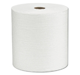 "HARDWOUND WHITE SCOTT  1 PLY 8"" X 580' 6 PER CASE"