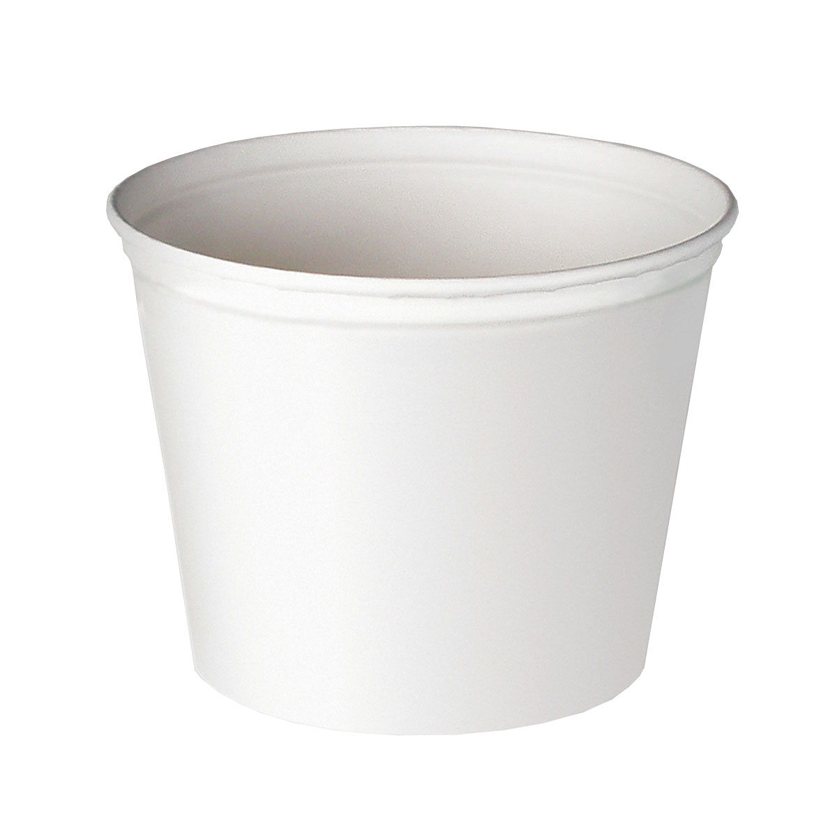 BUCKET PAPER FOOD UNTREATED WHITE 83OZ 100 PER CASE