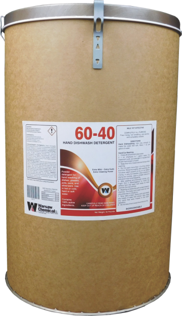 60/40 POWDERED HAND CAR WASH - 25# BOX