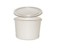 CONTAINER FOOD AND LID COMBO 8-10 OZ 250 PER CASE