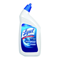 TOILET BOWL CLEANER LYSOL DISINFECTANT 32 OZ BOTTLES 12