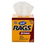 RAGS SCOTT RAGS IN A BOX TOWEL 8 BOXES OF 200 PER CASE