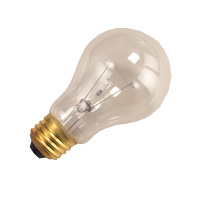 BULB 100W A19 RS CLEAR 130V E26 HALCO 4-PACK (30 PACKS PER