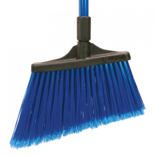 BROOM MAXI SWEEP ANGLE FLAGGED BLUE (REPLACES CAR-36863-14)