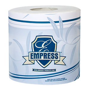 TOILET TISSUE 2-PLY EMPRESS 4.06 x 3.6 500 SHEETS PER
