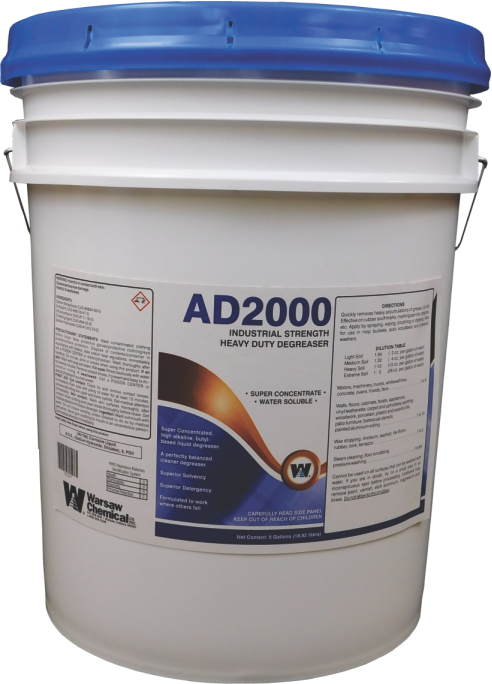 AD2000 DEGREASER 5 GALLON PAIL