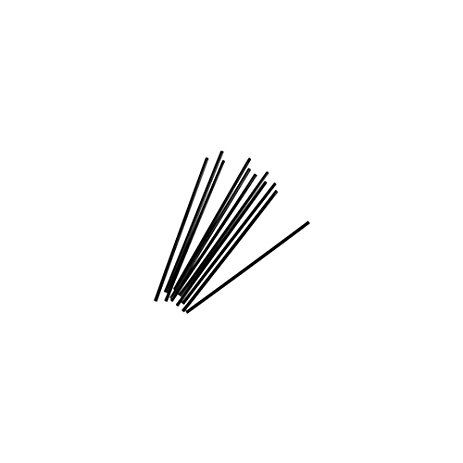 "STIRRERS 5.25"" BLACK UNWRAPPED (10 BOXES OF 1000 PER"