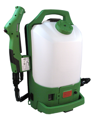 SPRAY ELECTRONIC BACKPACK CORDLESS 2.25 GALLON TANK