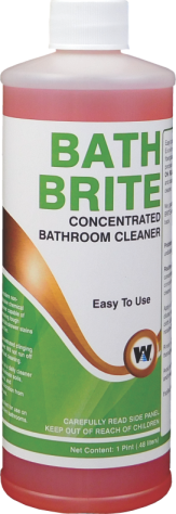 TOILET BOWL CLEANER BATH BRITE TUB TILE AND TOILET