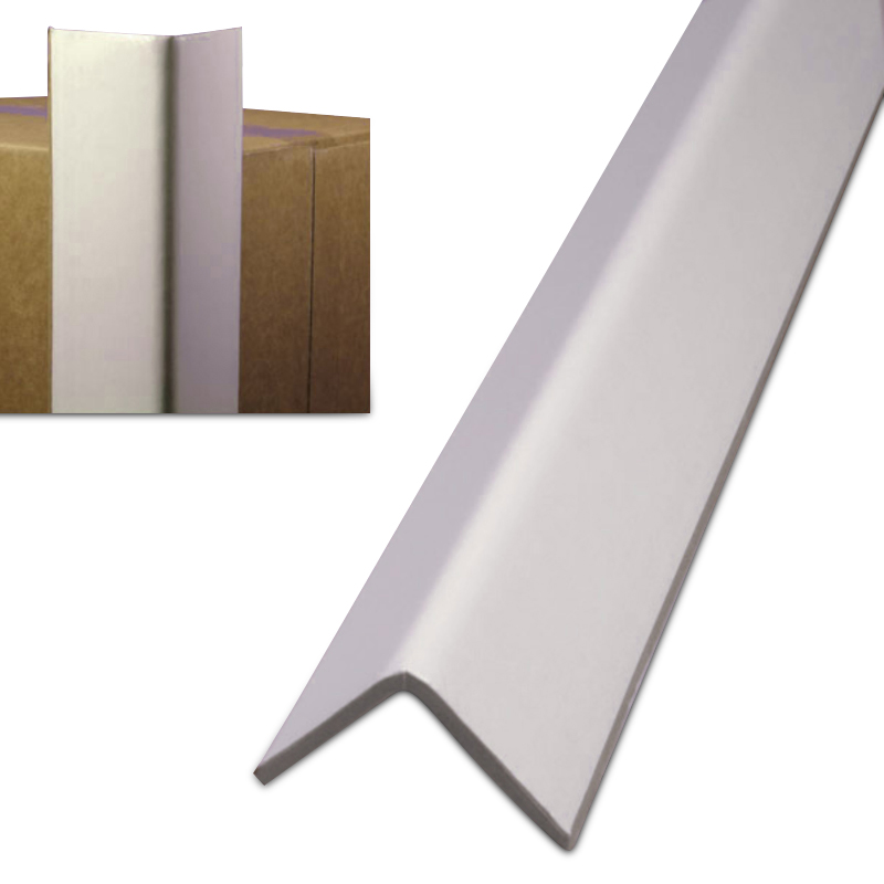 CORNERBOARD PALIN WHITE 2 x 2 x 72 .160 PT 900 SKID