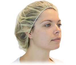HAIR NETS SIZE 21 100 PER BAG