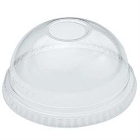 "LIDS COLD DOME FOR 9 - 22 OZ PET WITH 1"" HOLE 1000 PER CASE"