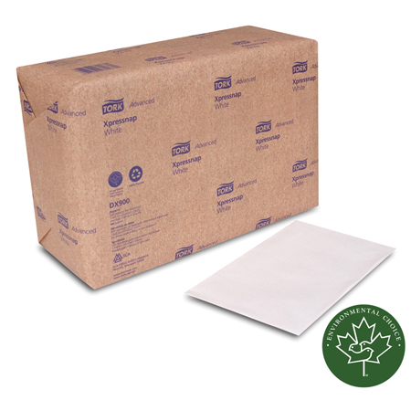 NAPKINS DISPENSER 1 PLY 13 X 8.5 XPRESSBAP 1/4 FOLD WHITE