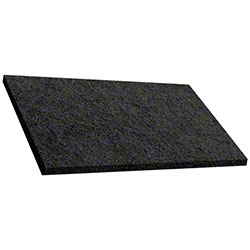 PADS - BLACK RECTANGLE 14 X 20 5 PER CASE