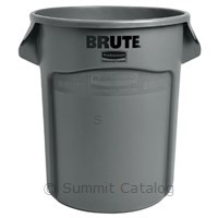 TRASH CAN 20 GALLON GREY ROUND BRUTE