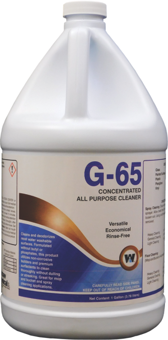 G-65 ALL PURPOSE CLEANER CONCENTRATE (4 GALLON CASE)