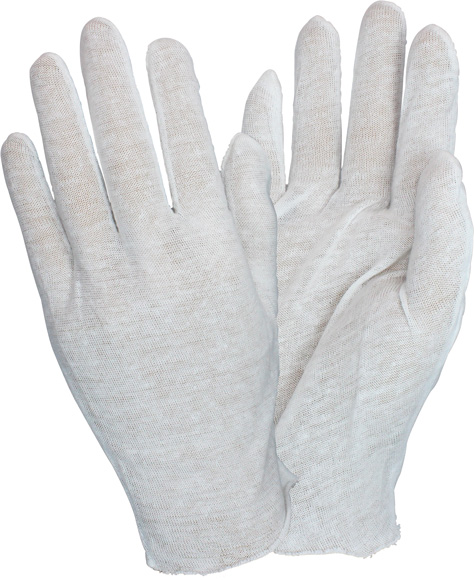 GLOVES 100% COTTON LISLE LIGHT WEIGHT INSPECTOR MENS