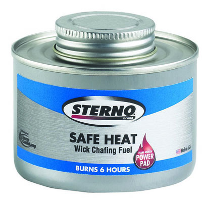 CHAFING FUEL 6 HOUR BURN 24 PER CASE
