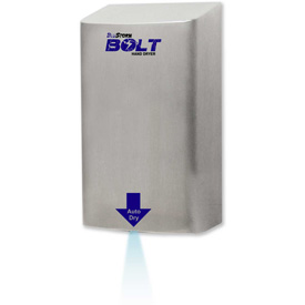 HAND DRYER BLUESTORM BOLT 220/240V BRUSHED STAINLESS