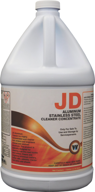 JD ALUMINUM CLEANER (4 GALLON CASE)