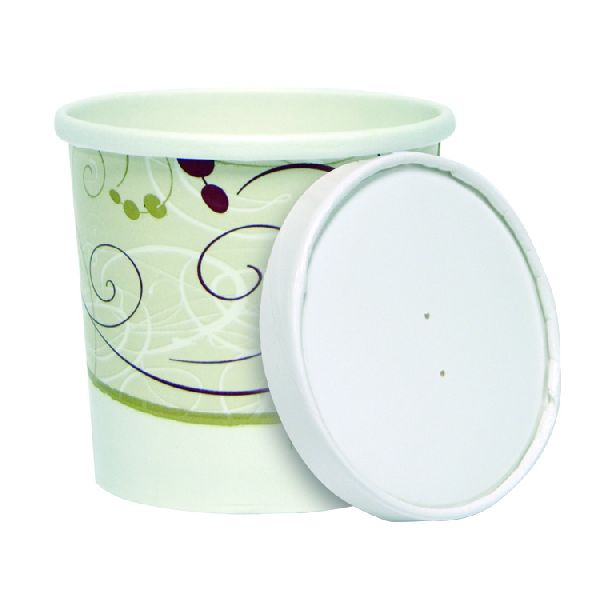CONTAINER FOOD AND LID COMBO 12 OZ PAPER SNY CONTAINER