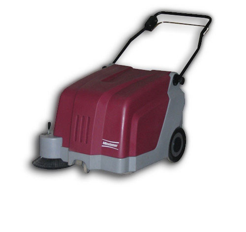 "SWEEPER 25"" WALK-BEHIND BATTERY OPERATED CARPET"