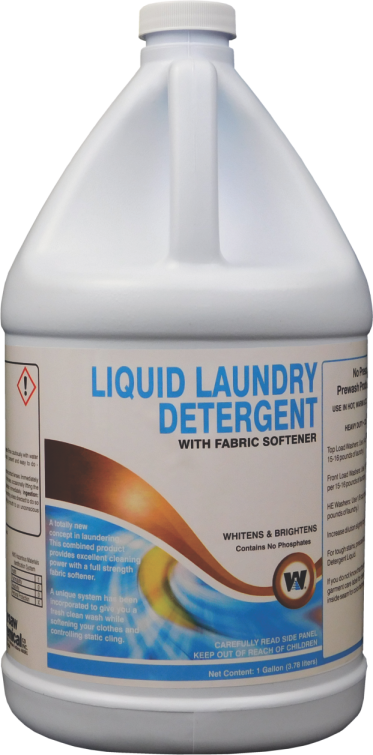 LAUNDRY DETERGENT - LIQUID (4 GALLON CASE)