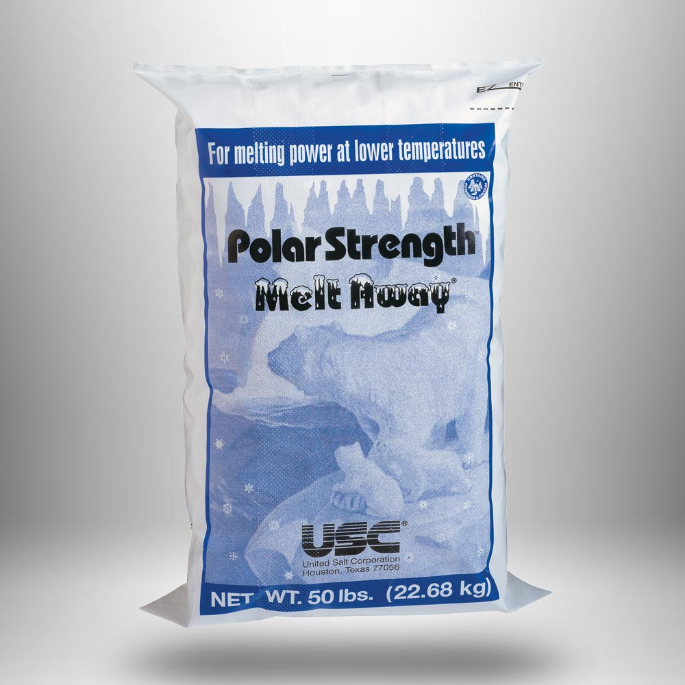 SALT - MELT AWAY 25# BAG ( 100 PER SKID )