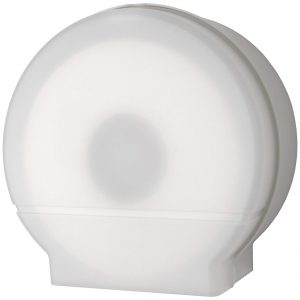 "DISPENSER TOILET TISSUE MODEL 26 SINGLE 9"" WHITE"