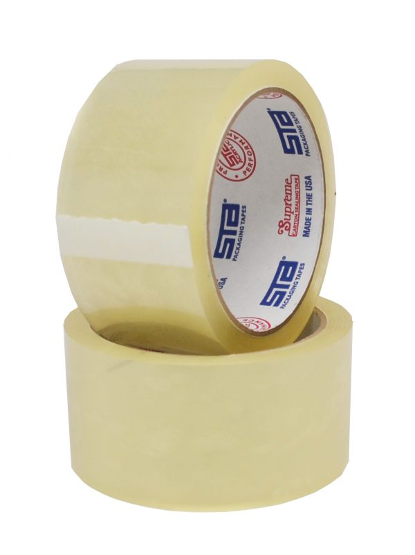 "TAPE SILENT ACRYLIC 2"" X 110, 2 MIL CLEAR 36 PER CASE"