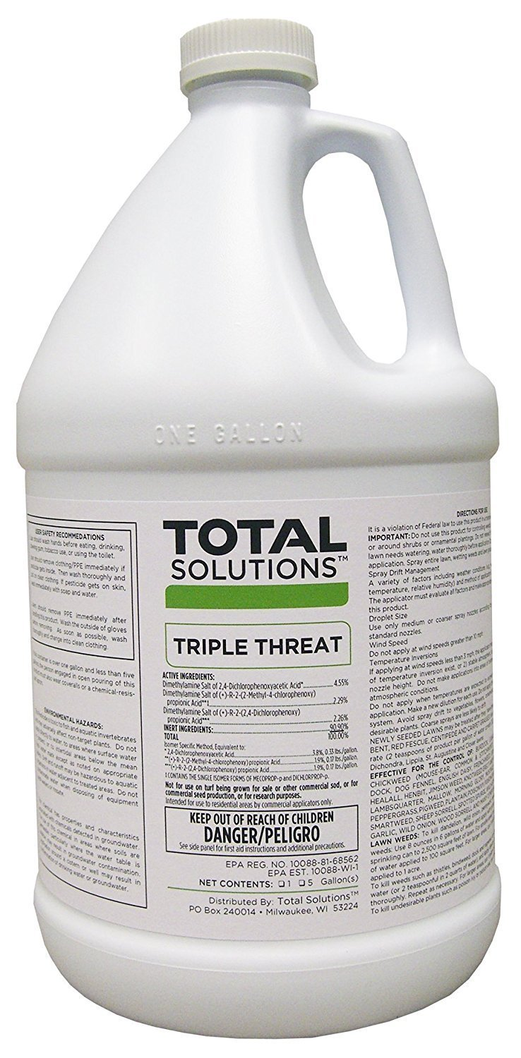TRIPLE THREAT SELECTIVE CONCENTRATED HERBICIDE WITH